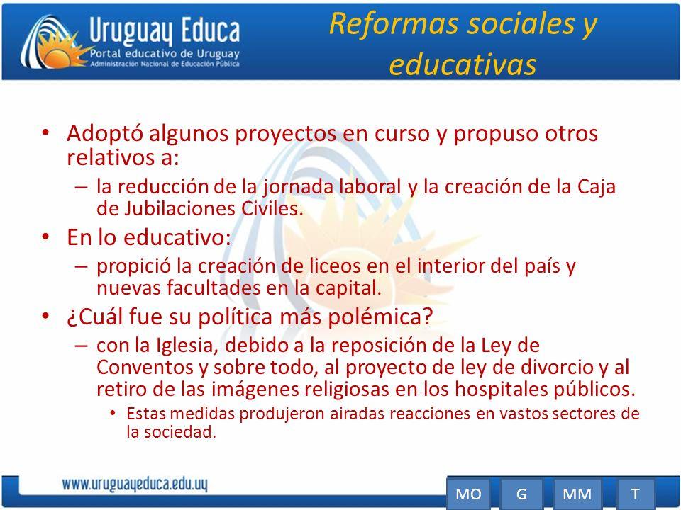 Reformas sociales y educativas