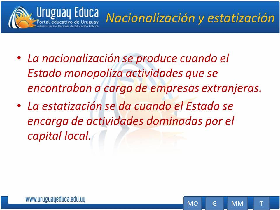 Nacionalización y estatización