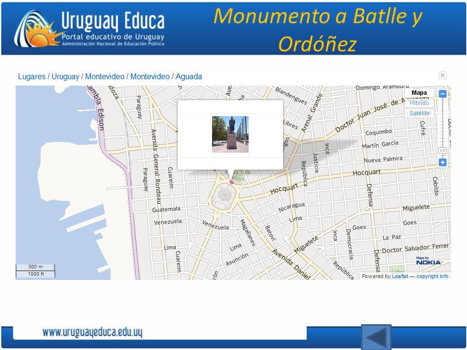 Monumento a Batlle y Ordóñez