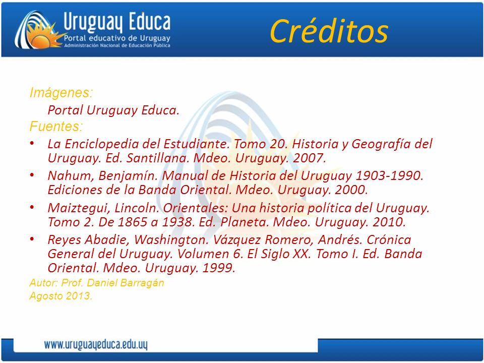 CréditosImágenes: Portal Uruguay Educa. Fuentes: