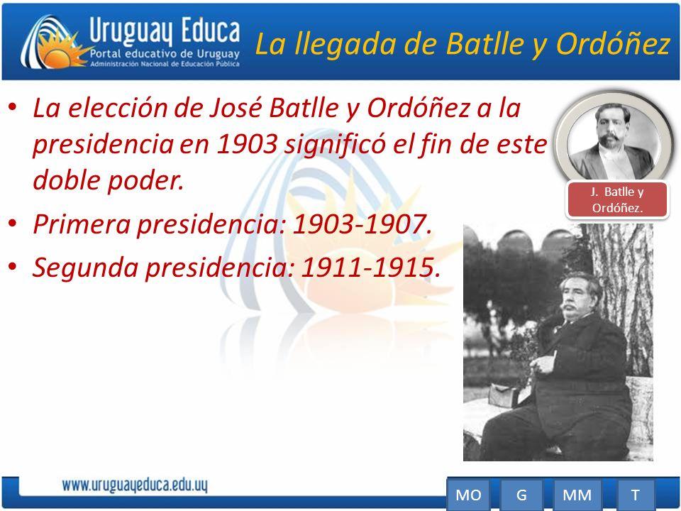 La llegada de Batlle y Ordóñez