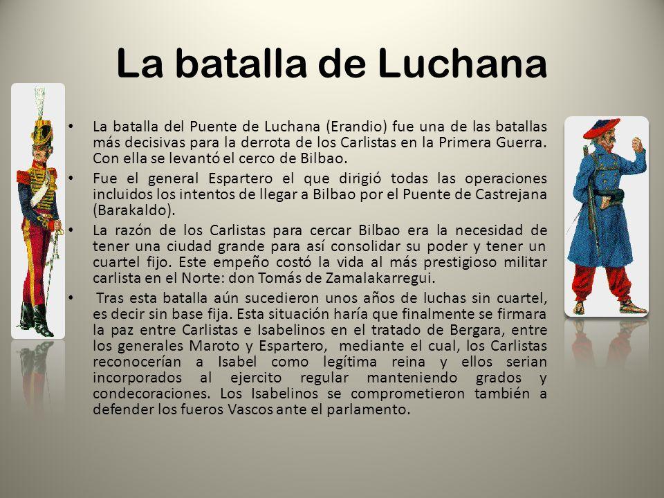 La batalla de Luchana
