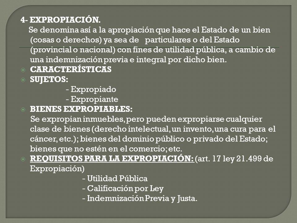 4- EXPROPIACIÓN.