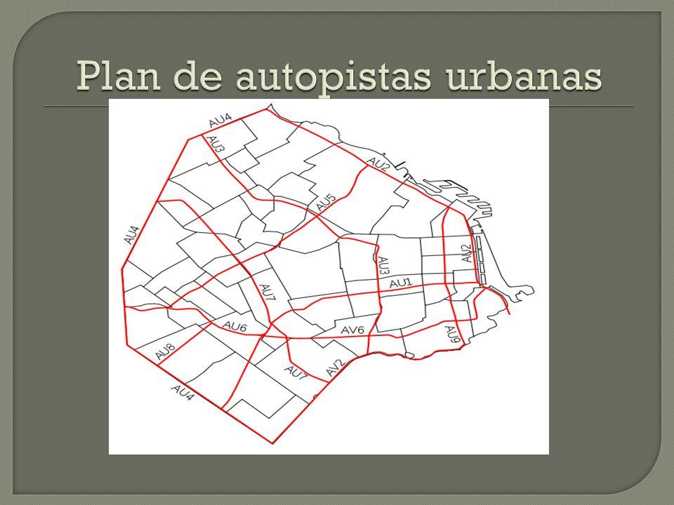 Plan de autopistas urbanas