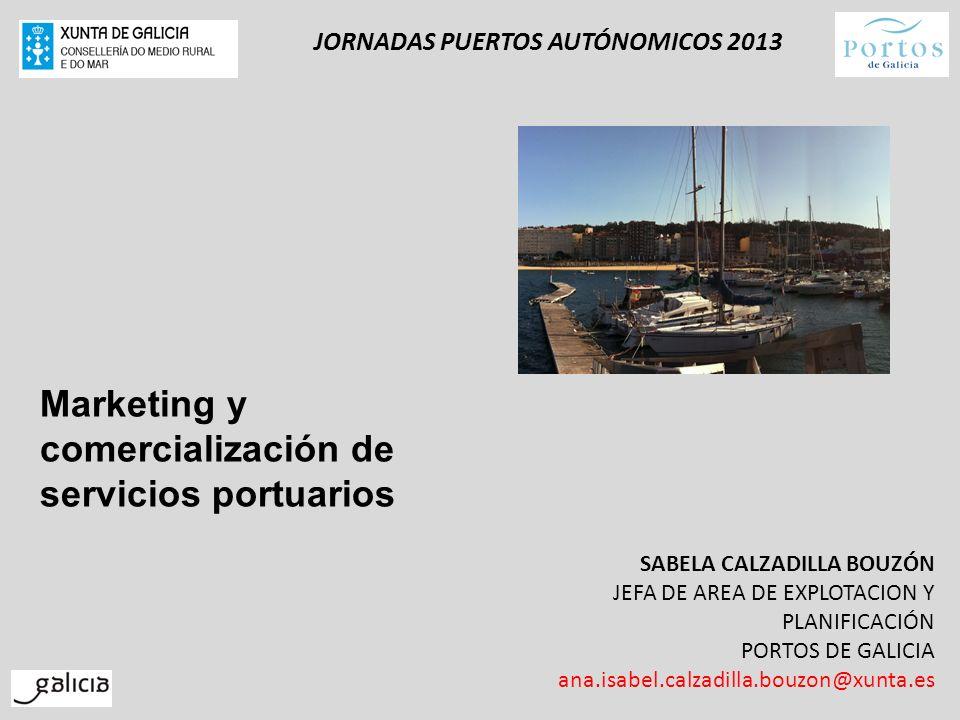 JORNADAS PUERTOS AUTÓNOMICOS 2013