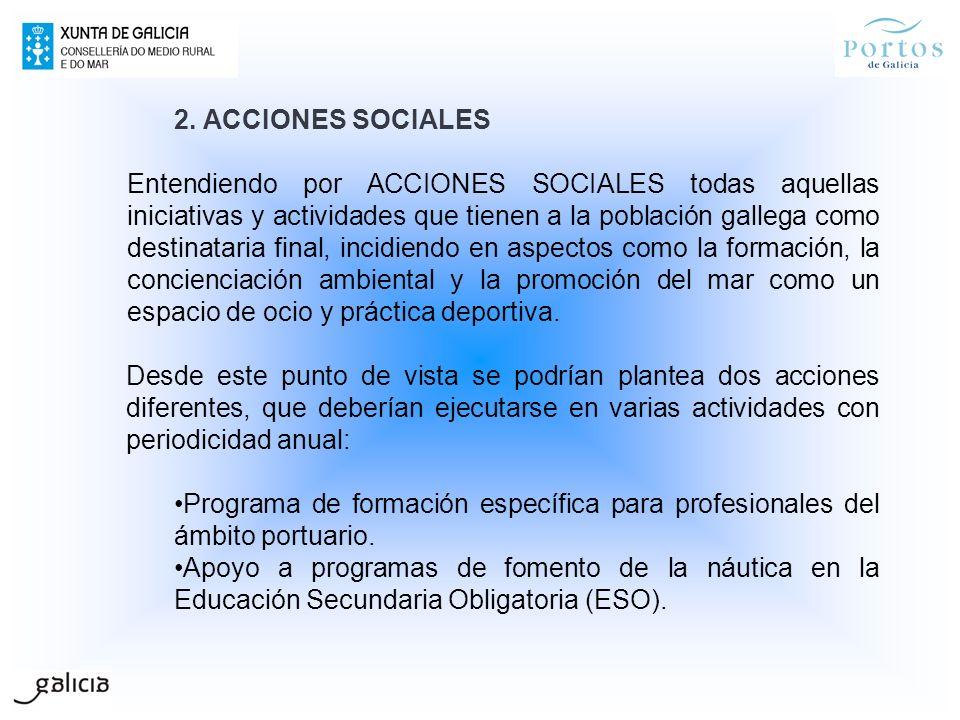 2. ACCIONES SOCIALES