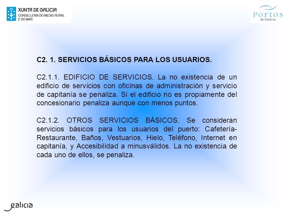 C2. 1. SERVICIOS BÁSICOS PARA LOS USUARIOS.