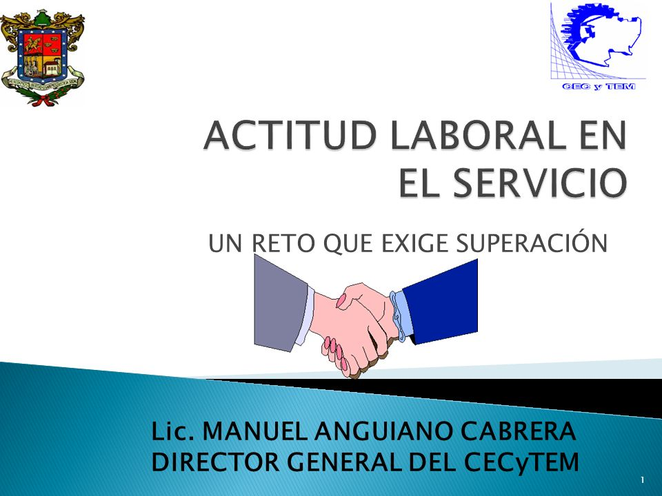 ACTITUD LABORAL EN EL SERVICIO