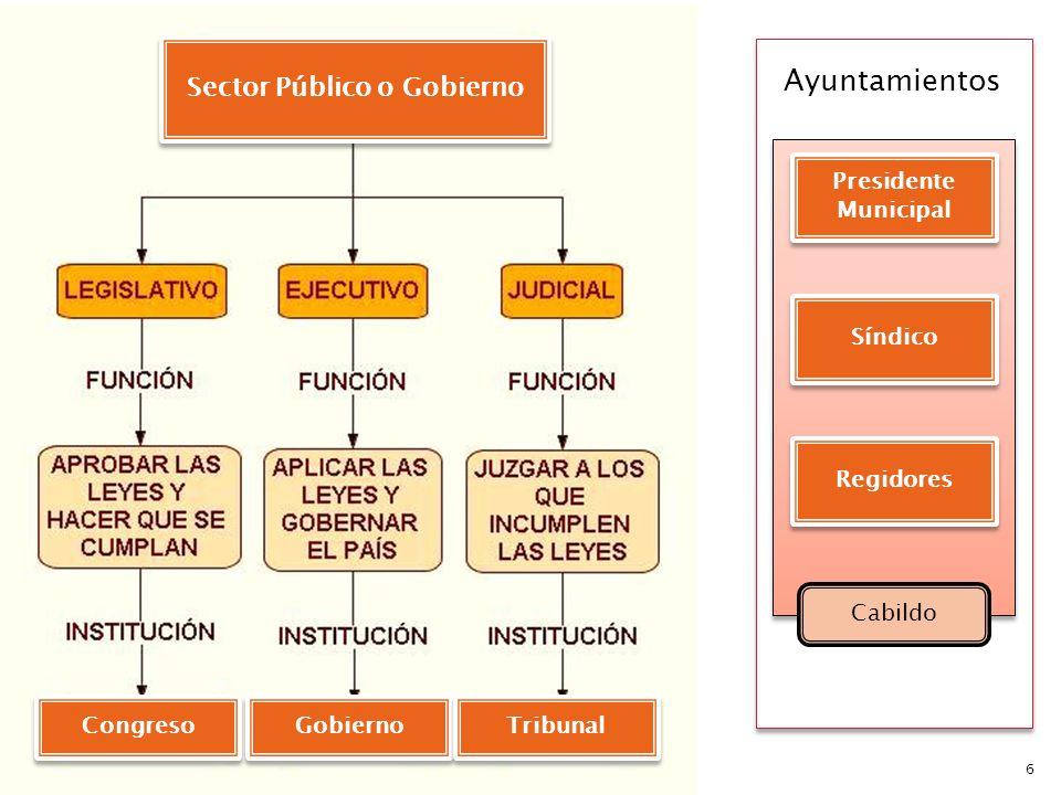 Sector Público o Gobierno
