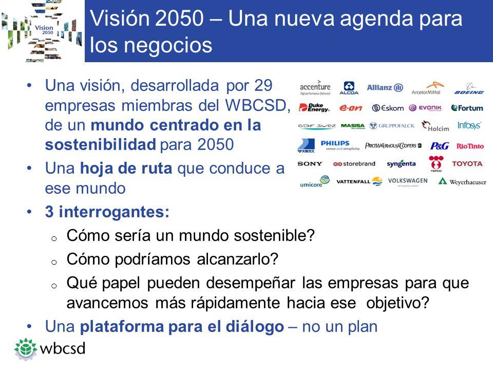 Visión 2050 – Una nueva agenda para los negocios