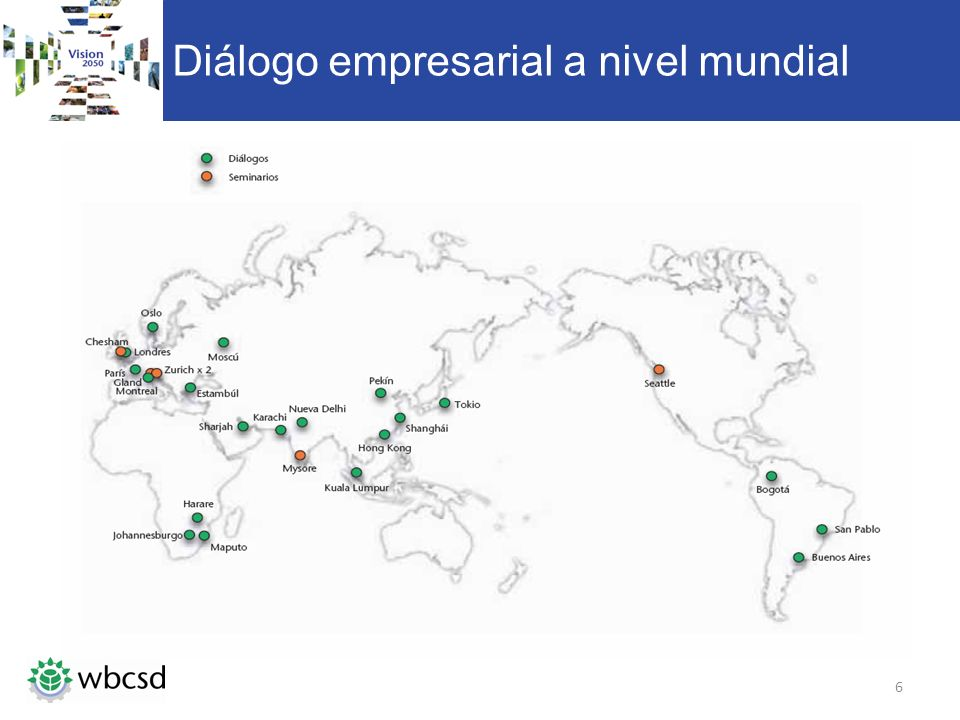 Diálogo empresarial a nivel mundial