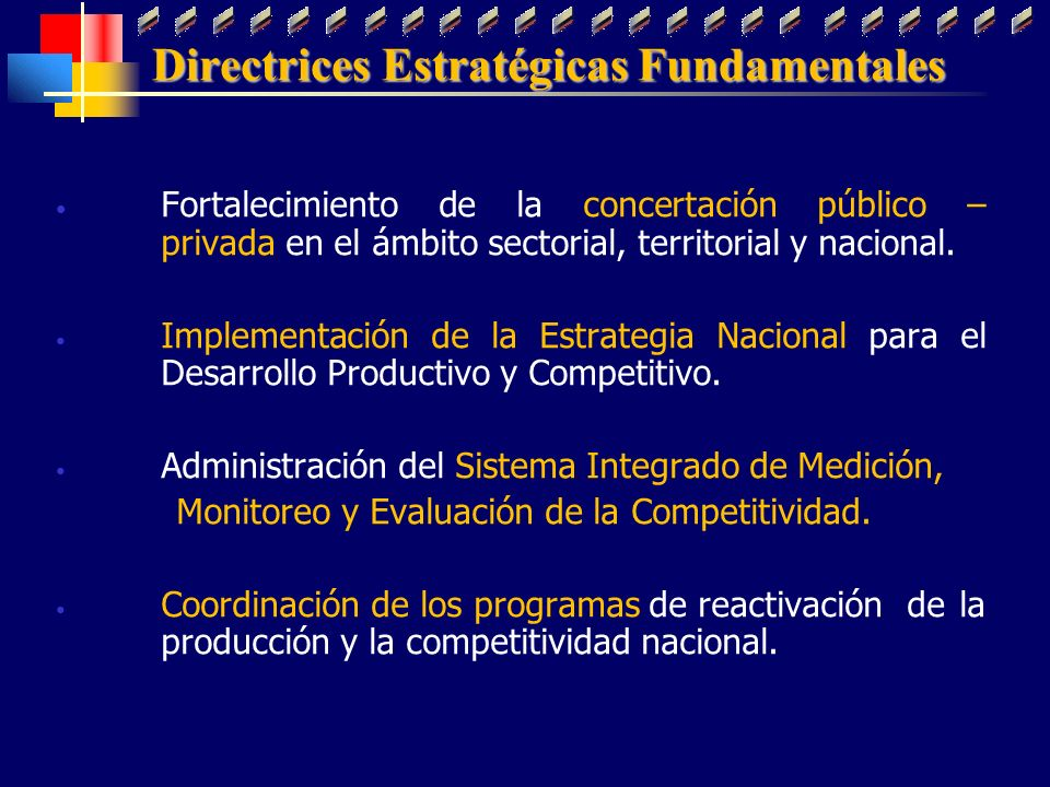 Directrices Estratégicas Fundamentales