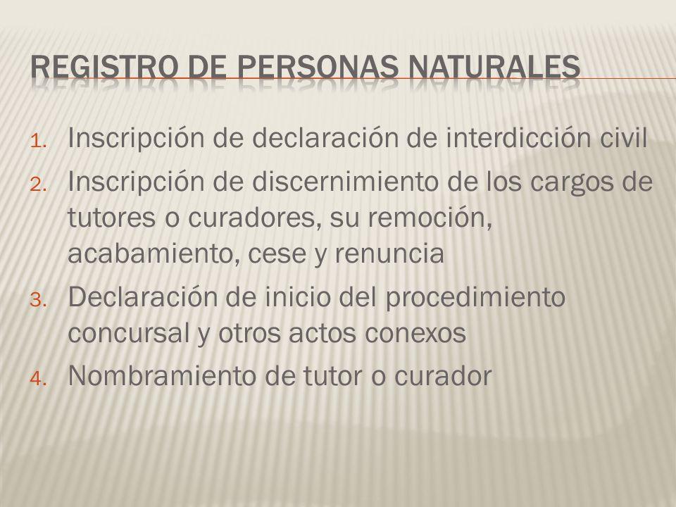 REGISTRO DE PERSONAS NATURALES