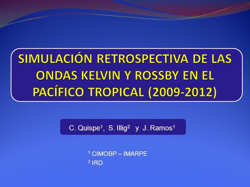C. Quispe1, S. Illig2 y J. Ramos1