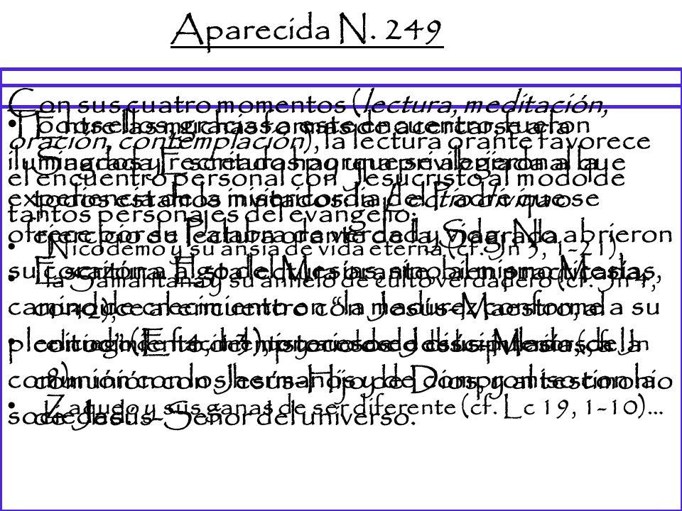 Aparecida N. 249