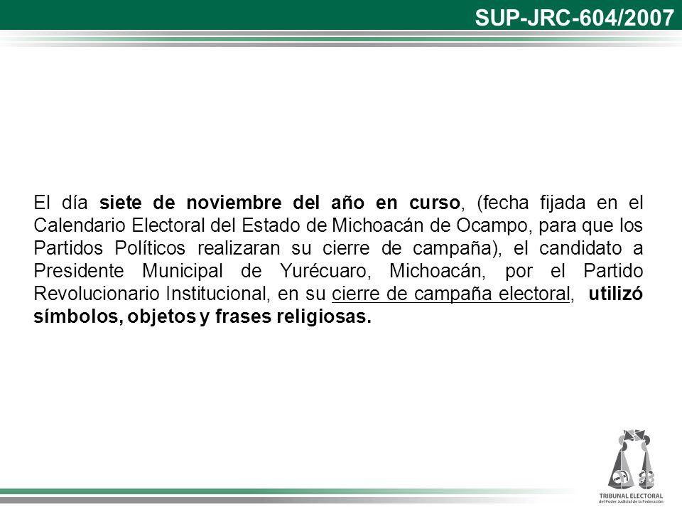 SUP-JRC-604/2007