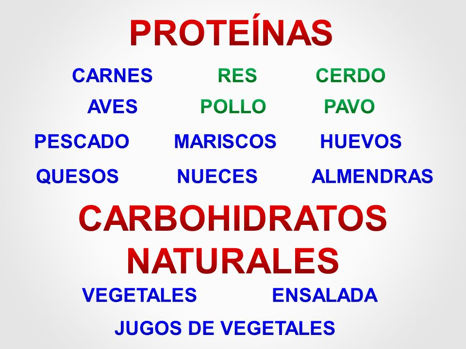 CARBOHIDRATOS NATURALES