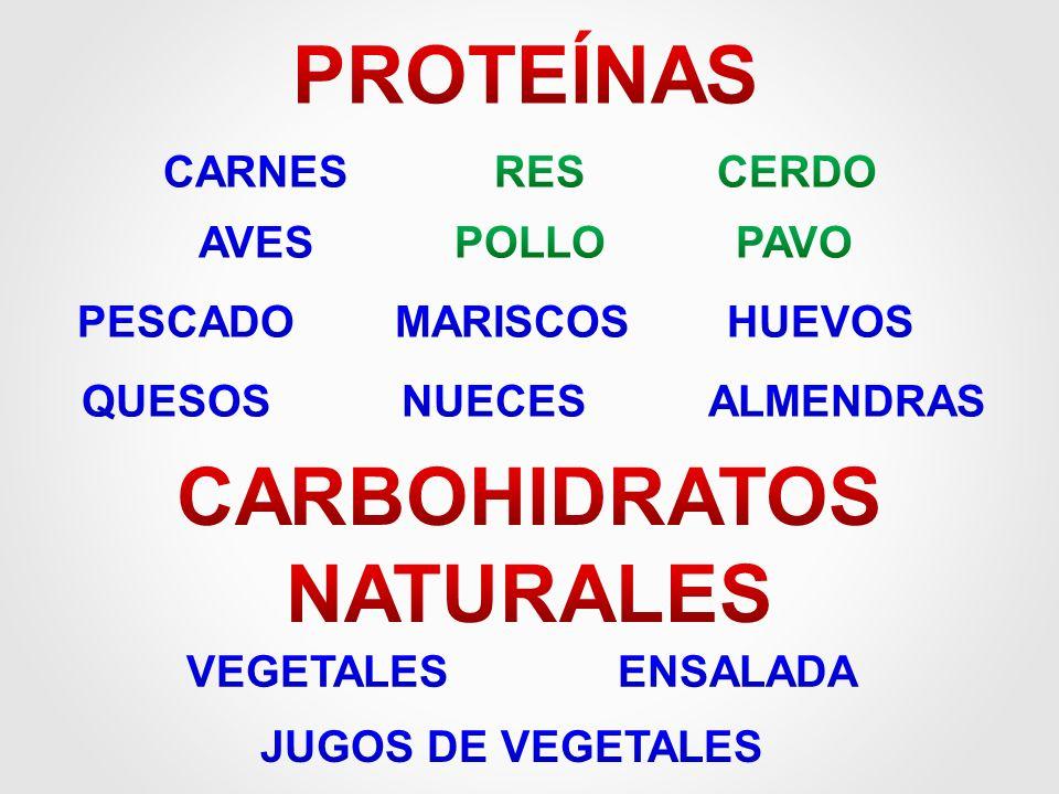 CARBOHIDRATOS NATURALES