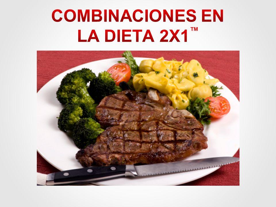 COMBINACIONES EN LA DIETA 2X1™