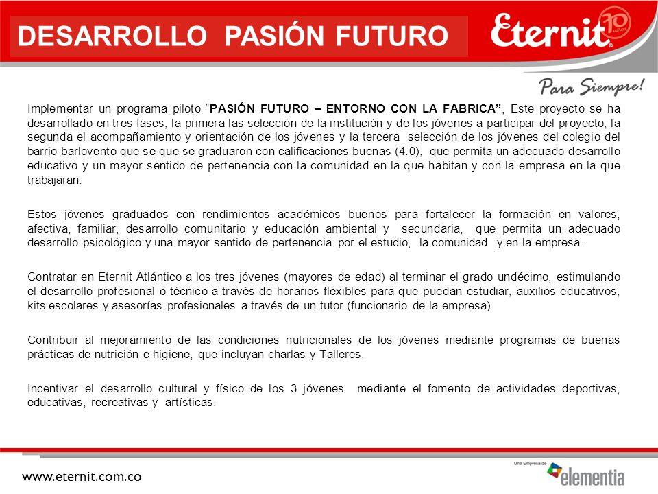 DESARROLLO PASIÓN FUTURO