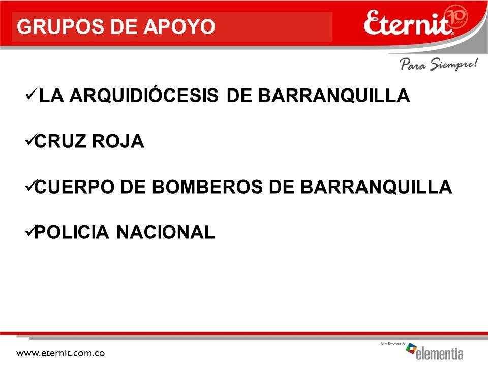 GRUPOS DE APOYO LA ARQUIDIÓCESIS DE BARRANQUILLA CRUZ ROJA
