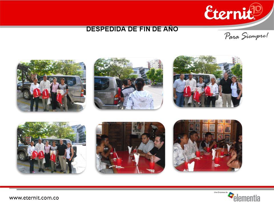 DESPEDIDA DE FIN DE AÑO www.eternit.com.co