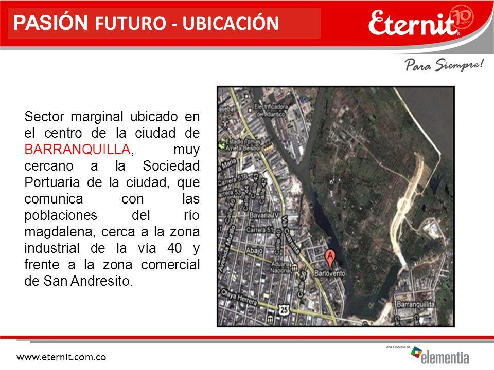 PASIÓN FUTURO - UBICACIÓN