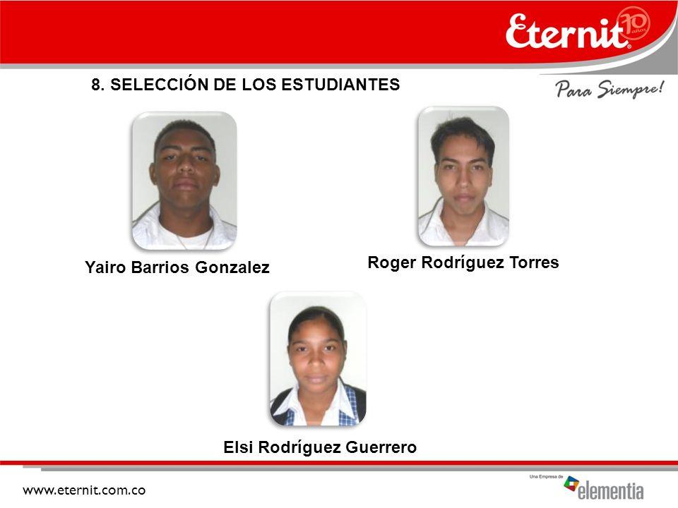Yairo Barrios Gonzalez Roger Rodríguez Torres Elsi Rodríguez Guerrero
