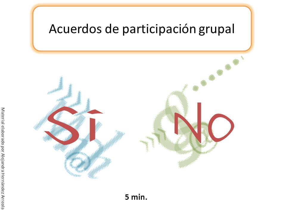 Acuerdos de participación grupal