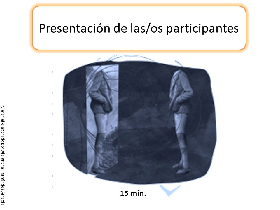 Presentación de las/os participantes