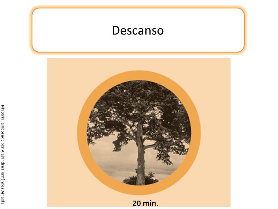 Descanso Material elaborado por Alejandra Hernández Arreola 20 min.