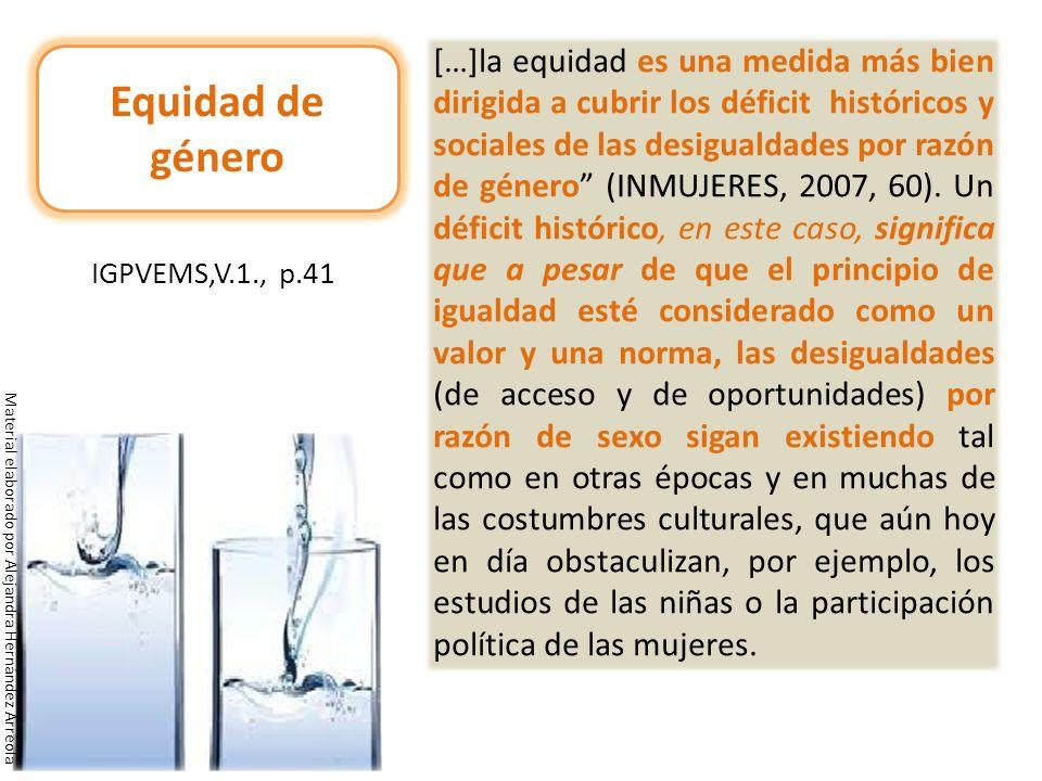 IGPVEMS,V.1., p.41 Equidad de género