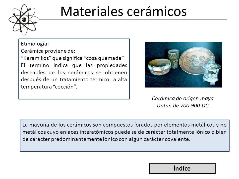 Cerámica de origen maya