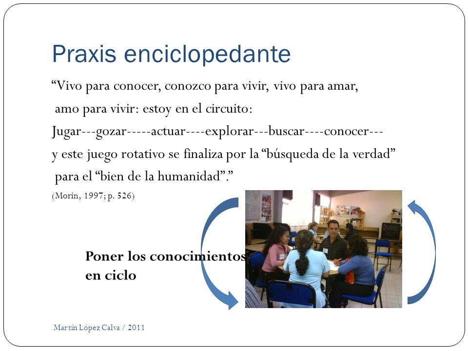 Praxis enciclopedante
