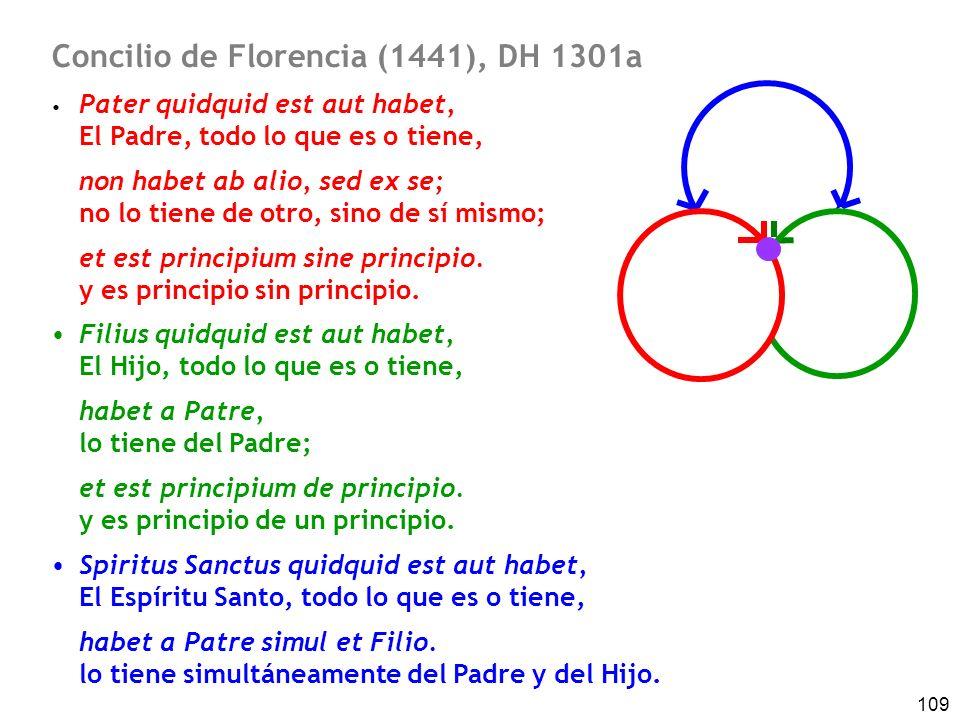 Concilio de Florencia (1441), DH 1301a