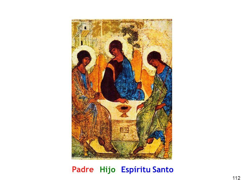Padre Hijo Espíritu Santo