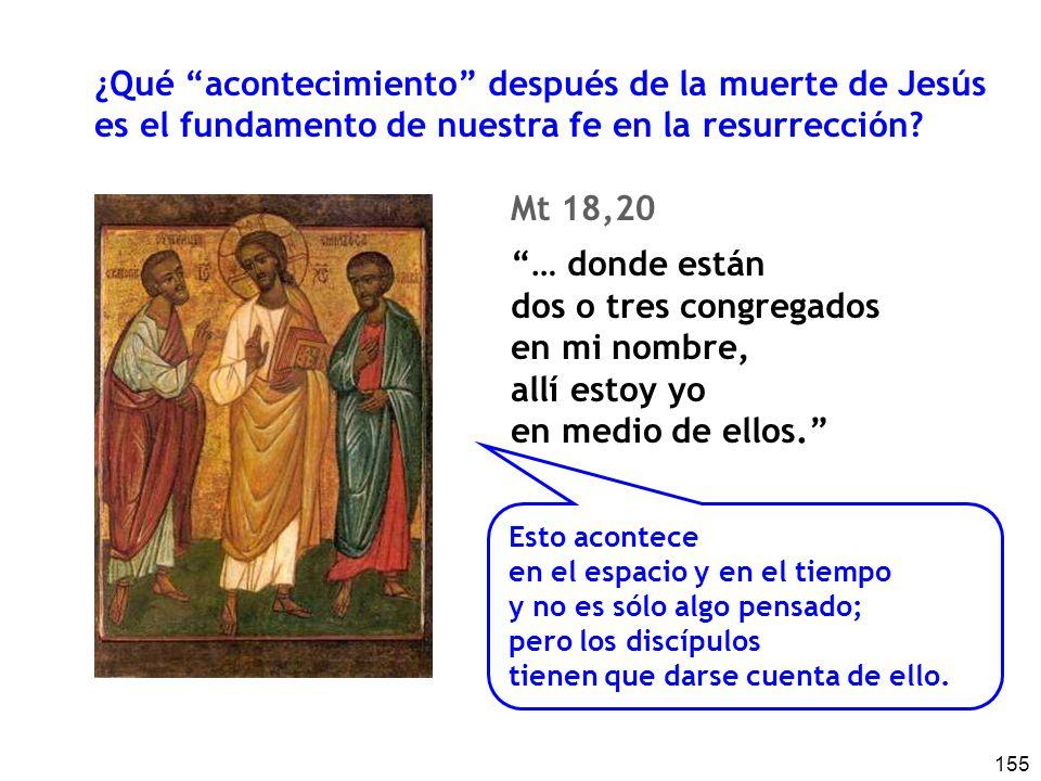¿Qué acontecimiento después de la muerte de Jesús