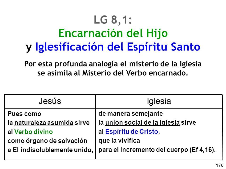 LG 8,1: Encarnación del Hijo