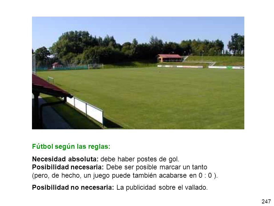 Fútbol según las reglas: