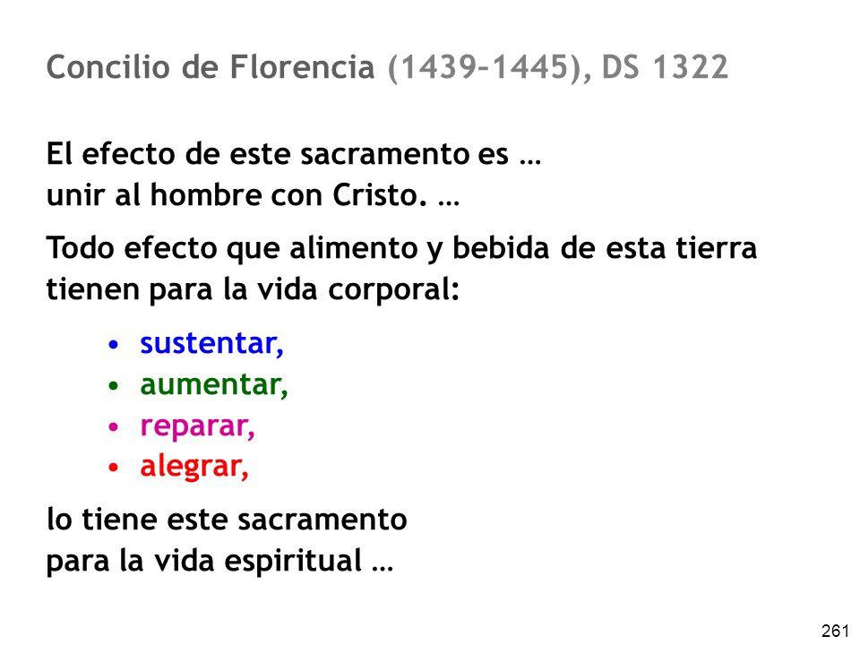 Concilio de Florencia (1439–1445), DS 1322
