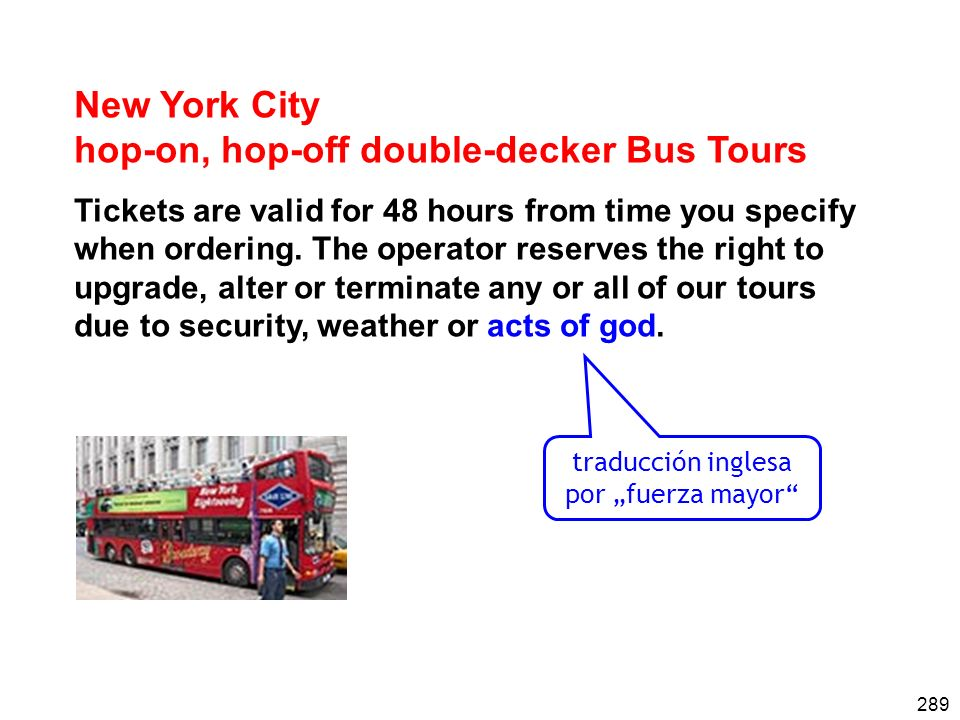 hop-on, hop-off double-decker Bus Tours