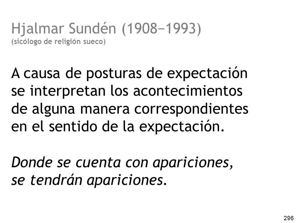 A causa de posturas de expectación se interpretan los acontecimientos