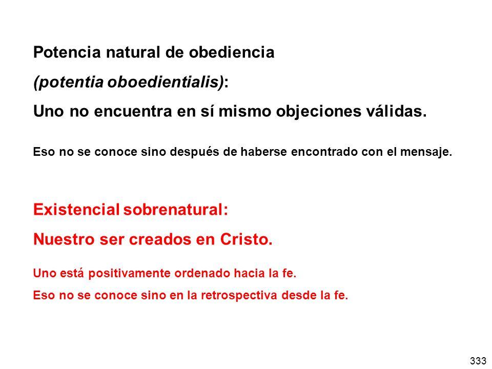 Potencia natural de obediencia (potentia oboedientialis):