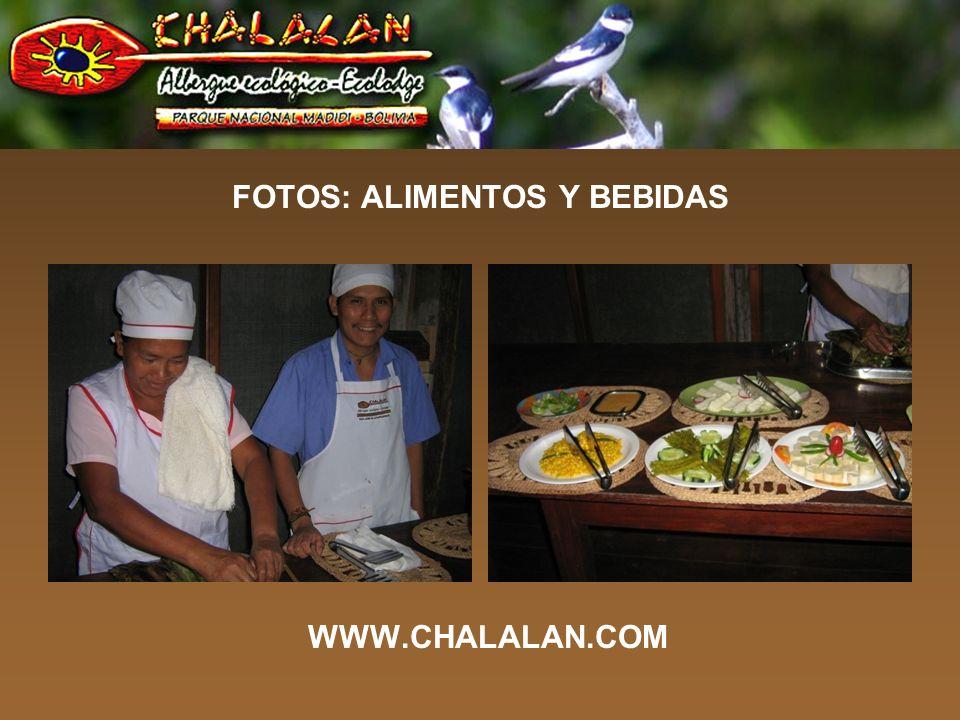 FOTOS: ALIMENTOS Y BEBIDAS