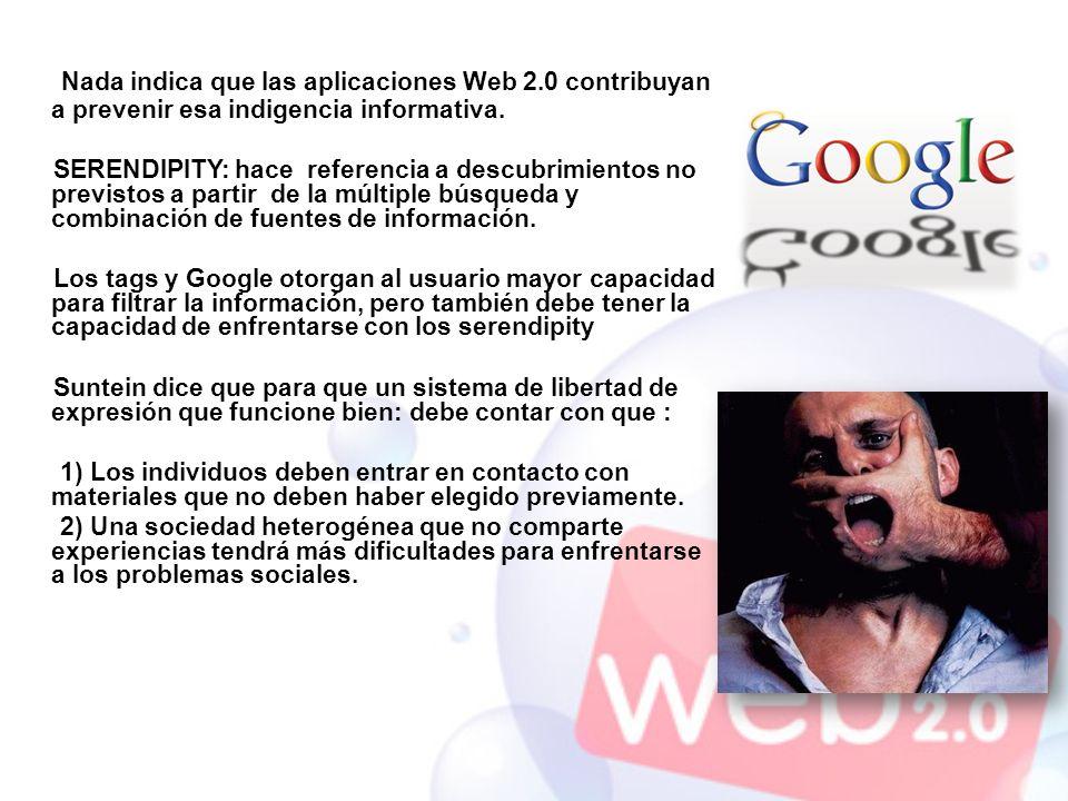 Nada indica que las aplicaciones Web 2