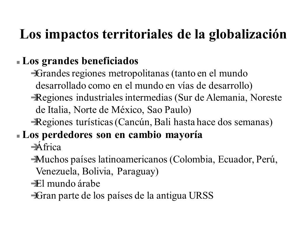 Los impactos territoriales de la globalización