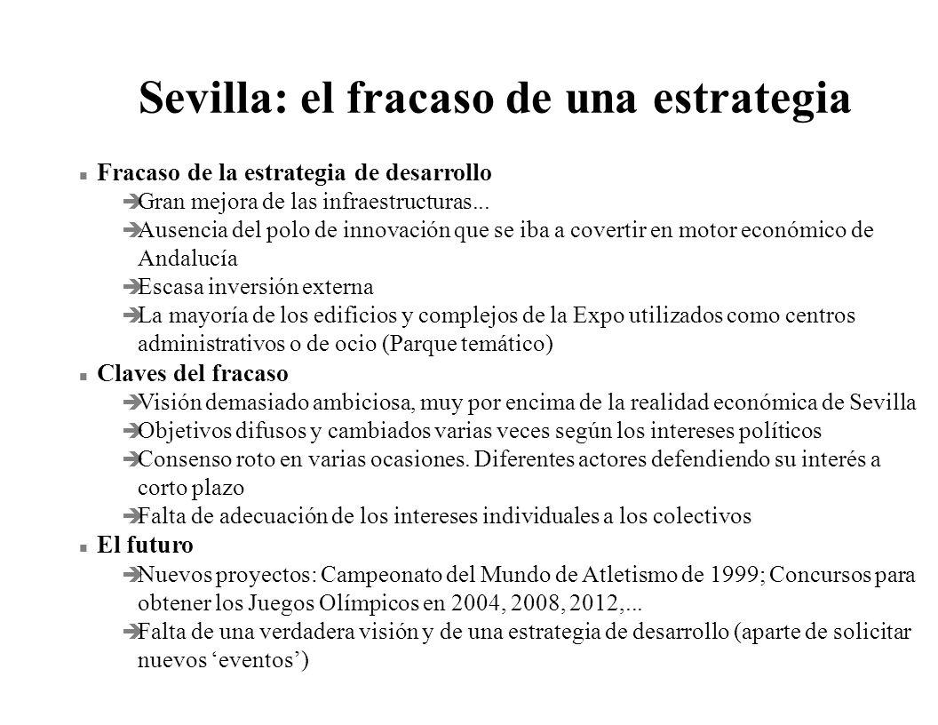 Sevilla: el fracaso de una estrategia