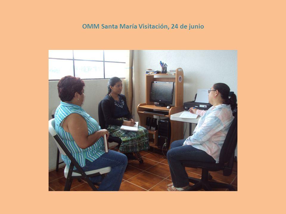 OMM Santa María Visitación, 24 de junio