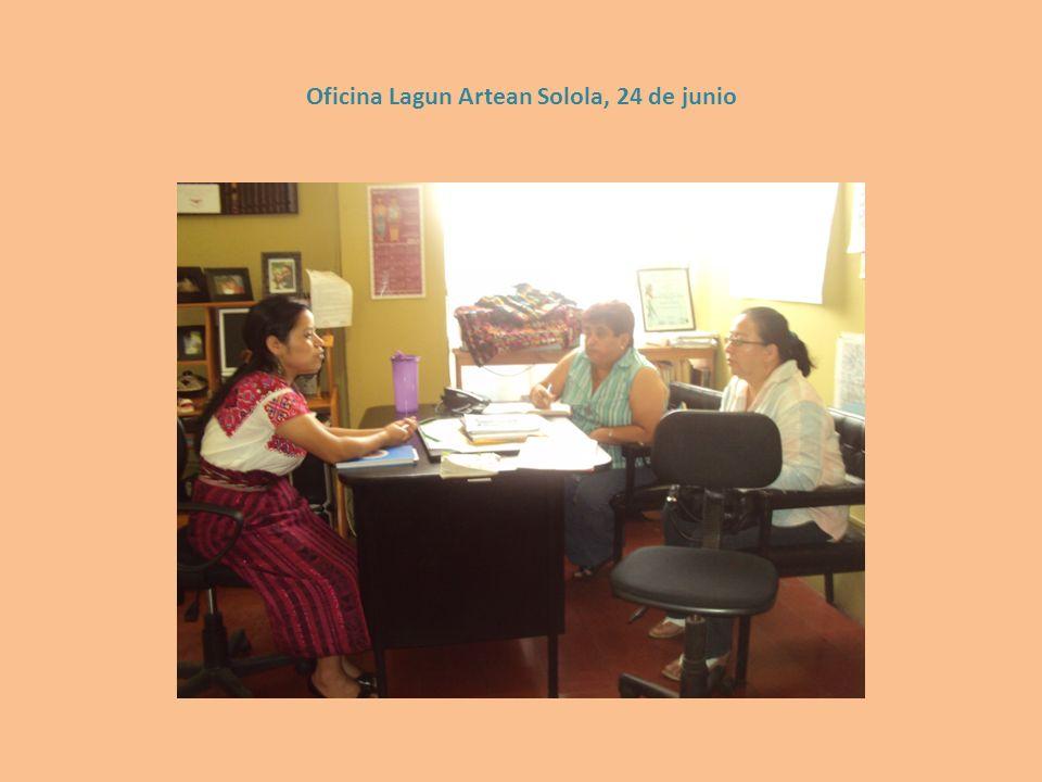 Oficina Lagun Artean Solola, 24 de junio