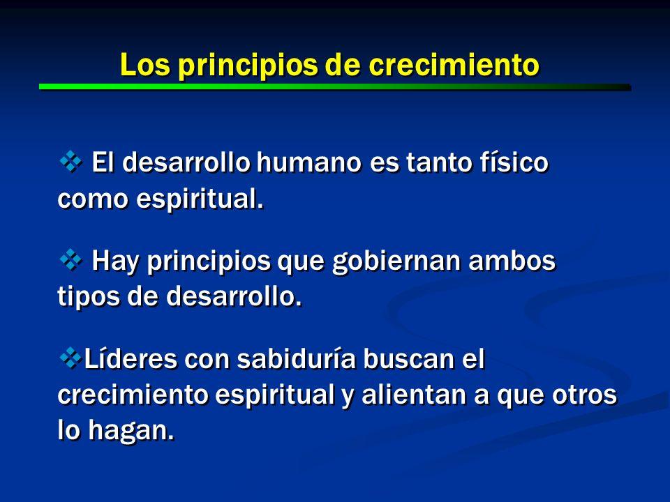 Los principios de crecimiento